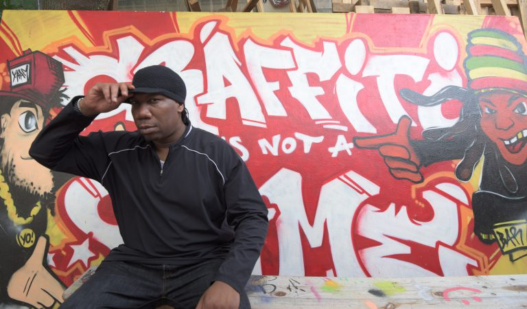 KRS One x URBAN ARTISTS Video Shoot at YAAM + Graffiti